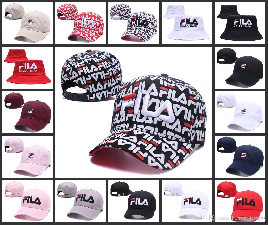 FILA strapback snapback Embroidery hats Men women Snapback Hat Women Ball Caps Top Quality