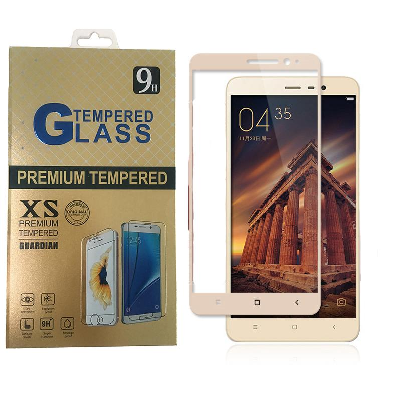 f26366edd Full Screen Protector Film Tempered Glass For Redmi Note 2 Note 3 Redmi 3  Pro Xiaomi 5 Screen Protection 9H 0.26mm Full Coverage Cell Phone Protector  One ...