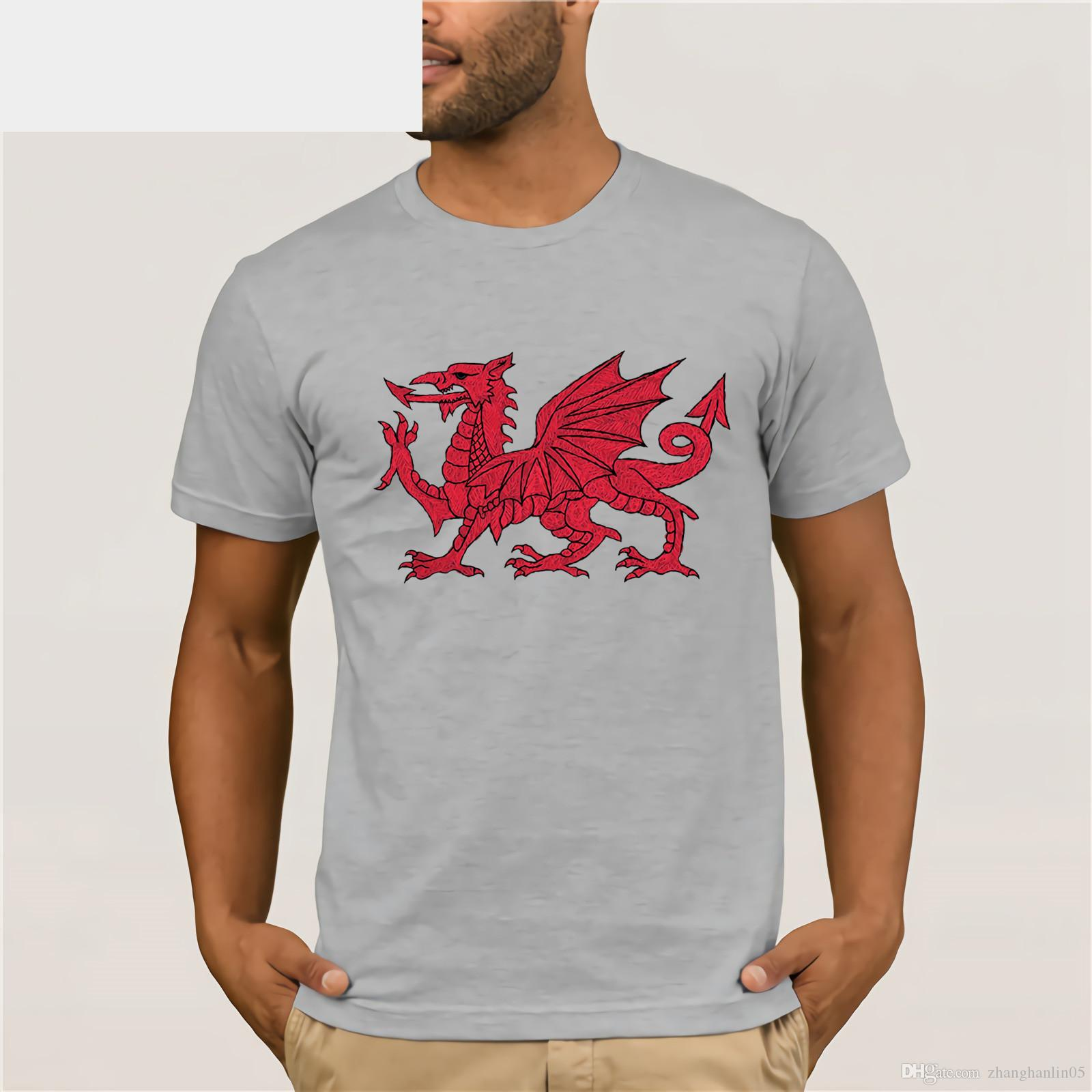 Wales Welsh Cymru Dragon For Or Other T Shirt Mothers Day Ms T