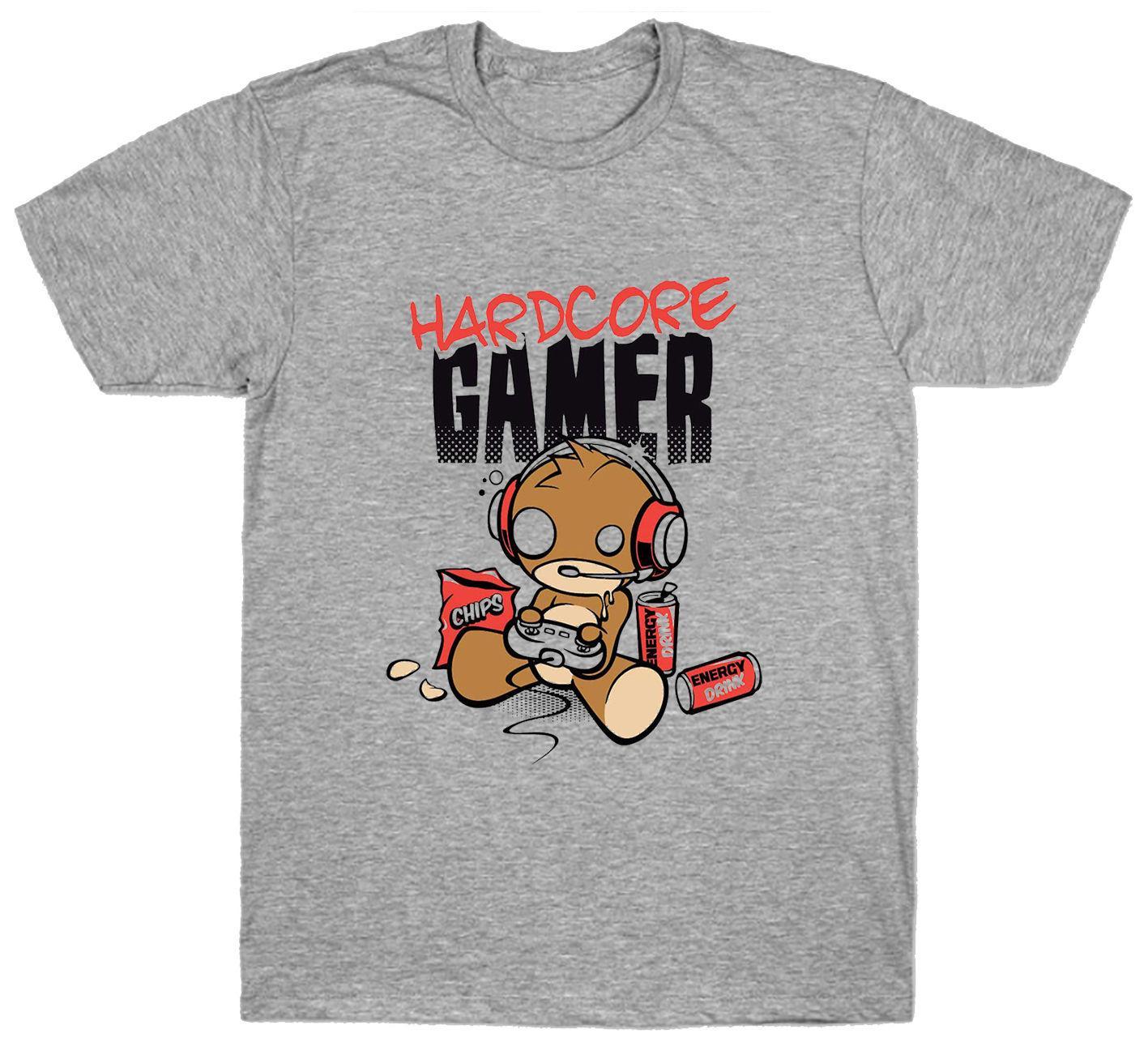 Computer Xbox Acquista Game Gamer Hardcore T Shirt Playstation wZkiuTOPX