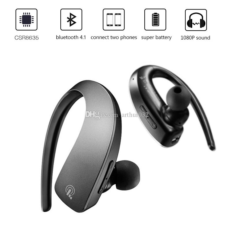Acquista Auricolare Stereo Senza Fili Q2 Bluetooth V4.1 Cuffie Auricolari  In Ear Musica Sportiva Hands Free Con Microfono IPhone 8 X IPad Xiaomi  Phone A ... bfe0db7acb73