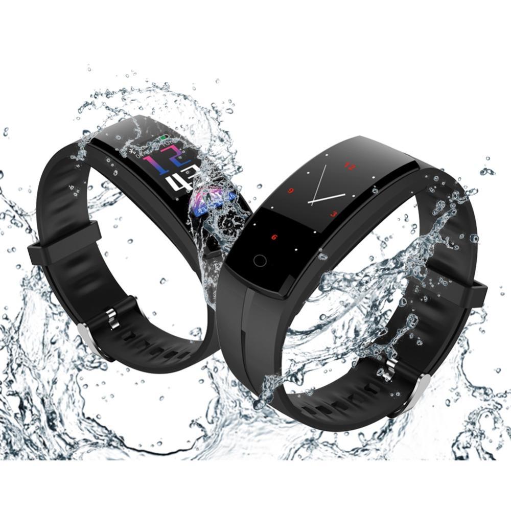 26c0d93b30a Compre Homem Pulseira Inteligente Relógio Digital Top Marca Relógio  Atividade Rastreador Relógios Preto Retângulo Tela Led Relógio De Pulso  Eletrônico De ...