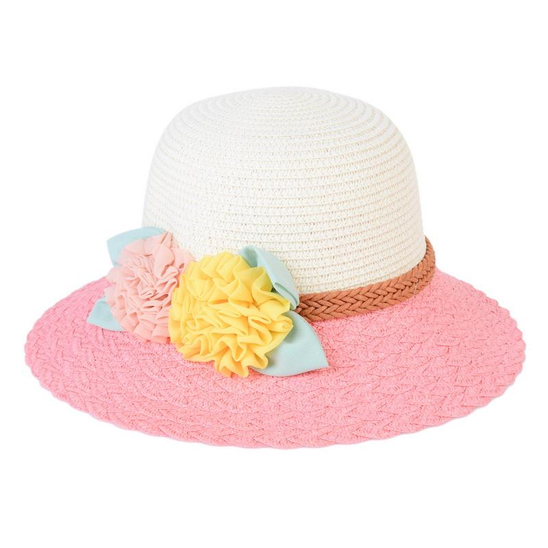 NIBESSER Cute Women Girls Sun Hats Summer Beach Outdoor Sun Protection Caps  Breathable Pink Rose Red Straw Hats Dropshipping Hat World Ladies Hats From  ... 6aa518539fa