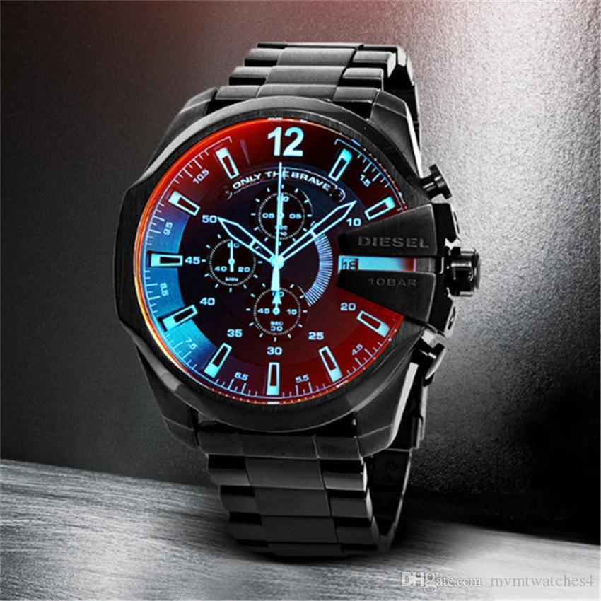 98e837e7802b 2018 Top Brand High Quality Men Watches Luxury Stainless Steel Strap Wrist  Watches Fashion Sports Watch Waterproof Relogio Masculino Ingersoll Watches  ...