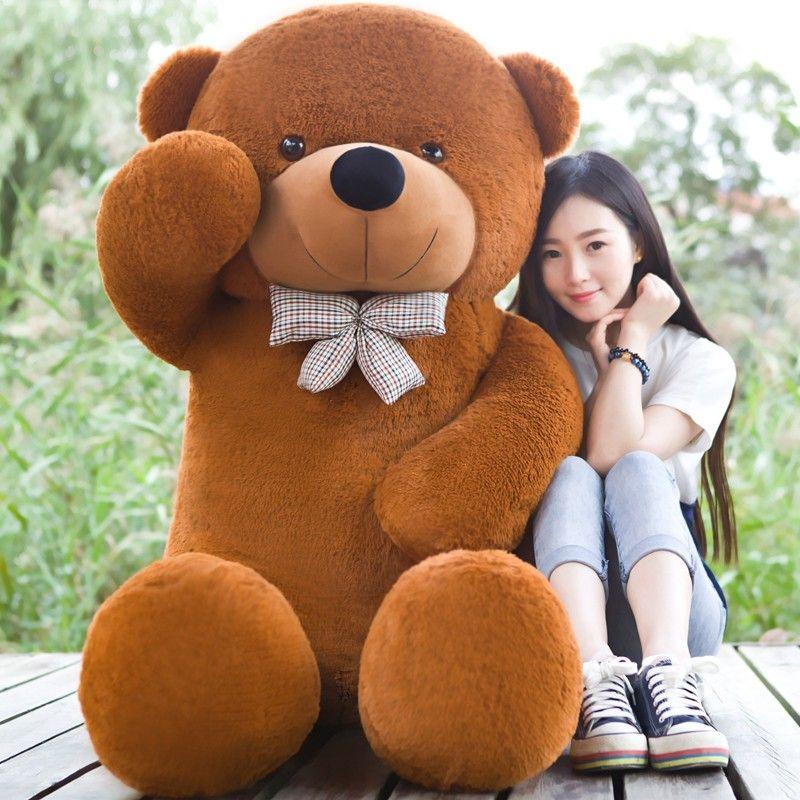 giant teddy bear plush stuffed animals kid baby dolls life size teddy bear