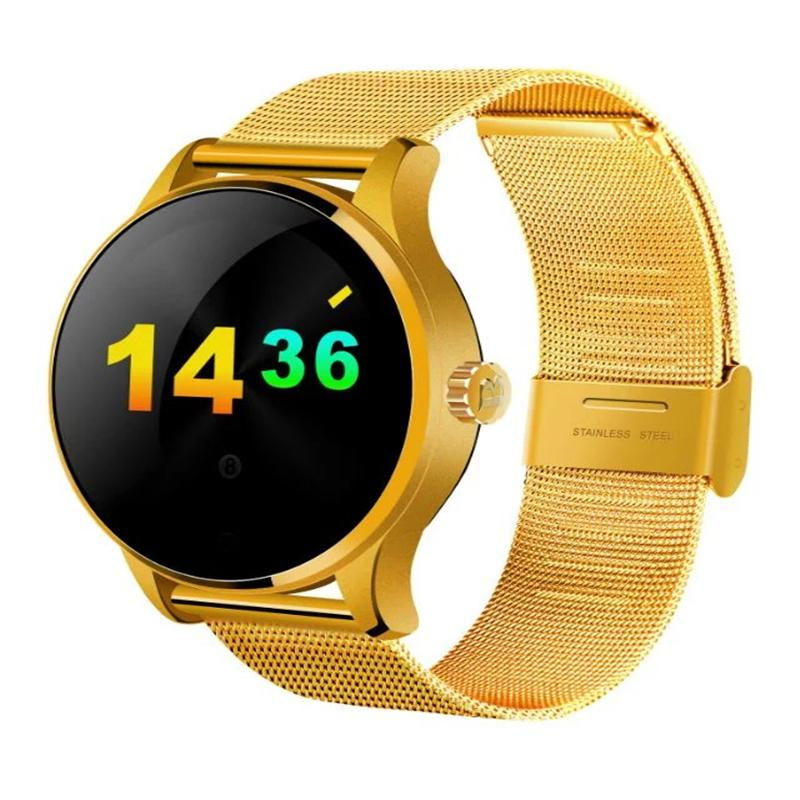 K88H Smart Watch Track Wristwatch Bluetooth Heart Rate Monitor Pedometer Dialing Smartwatch Phone For Android IOS