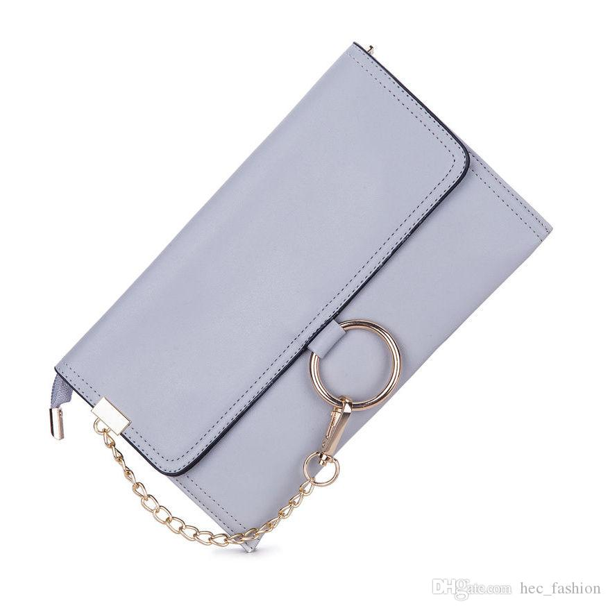 ae11bc979c7a Chains Envelope Clutch Bags for Women Crossbody Shoulder Bags Lady ...