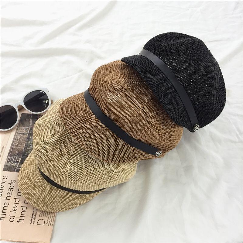 Compre 2017 Otoño Invierno Nueva Moda Caliente Mujeres Casual Cálido Boinas  Clásicas De Lino Femenino Inglaterra Estilo Vintage Caps Sombreros A  21.54  Del ... 633993b9387
