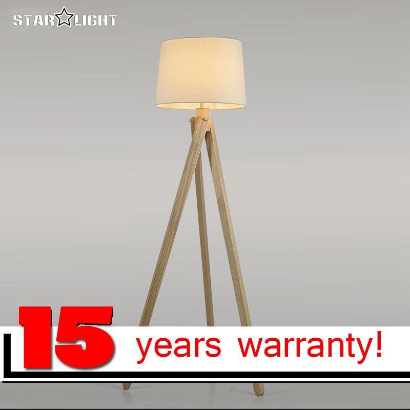 2019 Wooden Floor Lamp Industrial Lighting Fixtures For Home