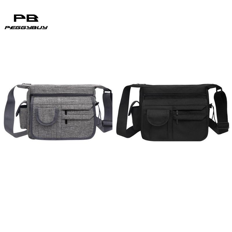 728467e97824 Casual Multi Pocket Travel Men Teen Business Messenger Bag Vintage Nylon  Shoulder Bags Brahmin Handbags Messenger Bags For Women From Standbyside