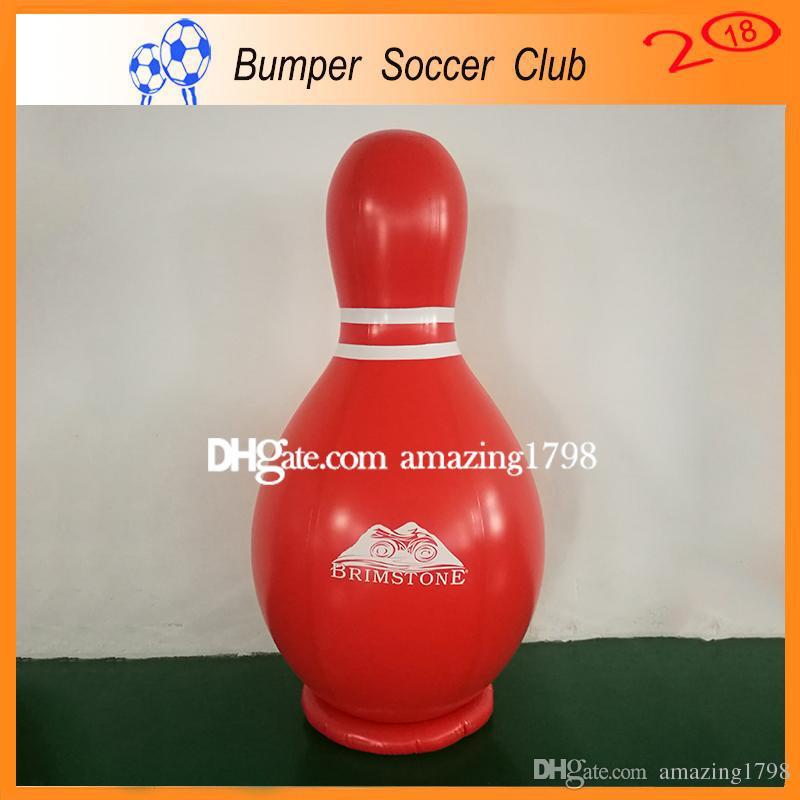 شحن مجاني مضخة مجانا جودة عالية 2 متر نفخ الإنسان تهب الكرة ، العملاق نفخ لعبة البولينج الكرة ، الإنسان zorb البولينج للبيع