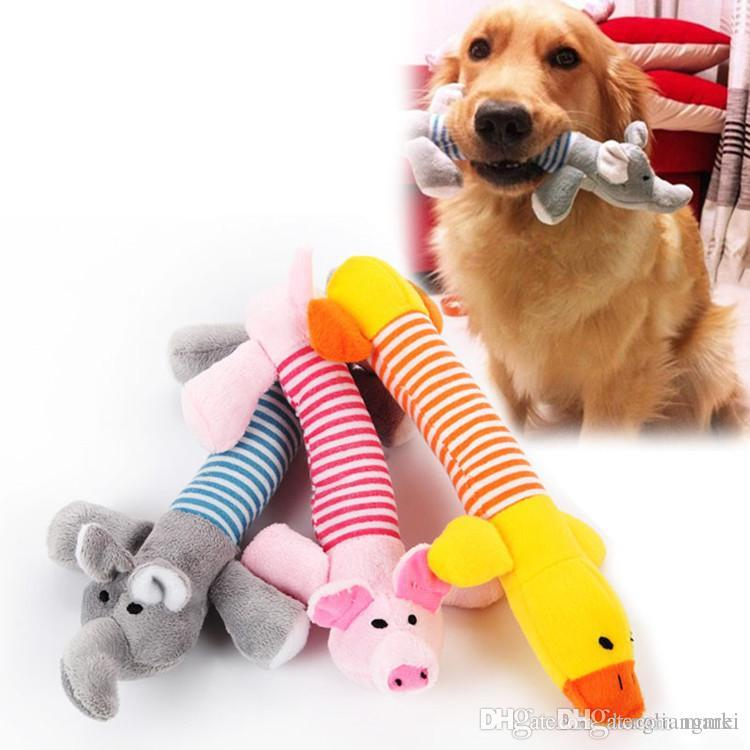 Pet Products Dog Toys Pets Interactive Plush Chew Squeak Sound Toy Cute Deer Designs Bite Puppy Cat Toys For Dog Accessories Pet Dog Products At Any Cost