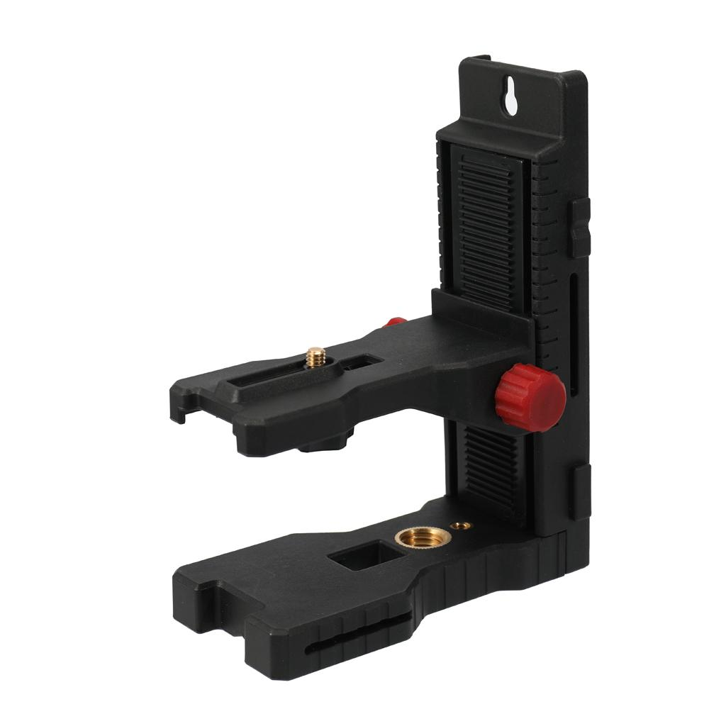 Wall Mounted Bracket Magnet Laser Level Bracket / Stativ 1/4 Schraube Schnittstelle Infrarot Level Hang Wall Hanger horizontale Instrument