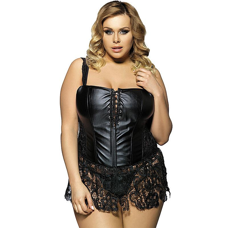 Bizarre Pussy Plus Size Sexy Corsets