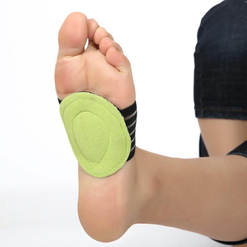 Corregir el pie plano Soporte de arco Plantillas ortopédicas Mujeres de los hombres Media plantillas de zapatos Pies Estera del coche Zapatos transpirables Pad