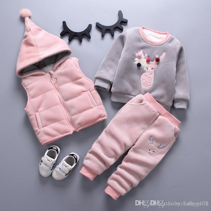 b0cf9f911e8f Children s Clothing Sets Baby Girl Clothes Suit For Toddler Spring ...