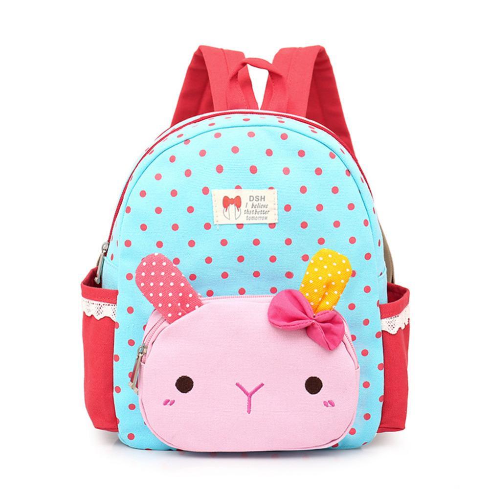 2018 Minocool Girls Cute Dot Pattern School Backpacks Kindergarten ...