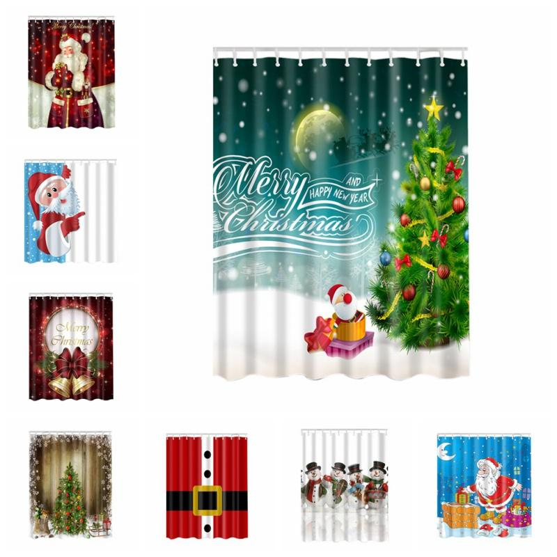 2018 new pop christmas funny polyester shower curtain 3d high definition digital witch pumpkin printing curtain for bathroom ari 947 from china_wholesale18 - What Is The Definition Of Christmas
