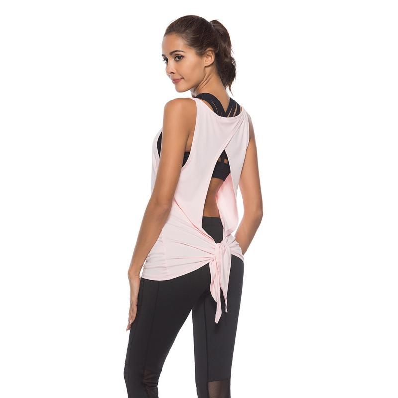 3ab052efe8f063 2019 2018 Newest Hot Sale Summer Sexy Fitness Tank Tops Women S Loose  Breathable Vest Blouse Casual Women Vest From Merrylady