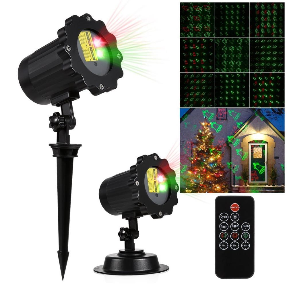 Kmashi Red Green Dynamic Laser Light With Ir Remote Control Outdoor ...