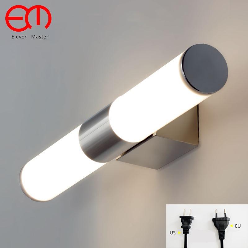 Acheter Mordern Miroir Lampe Salle De Bains Applique Murale LED En ...