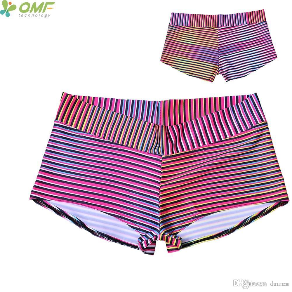 4cbbf54280da9 Gradient Stripes Sports Shorts Womens Running Shorts Zebra Colorful Stripes  Fitness Yoga Sexy Beach Hot Pant S-4XL Sport Shorts Woman Running Shorts  Women ...