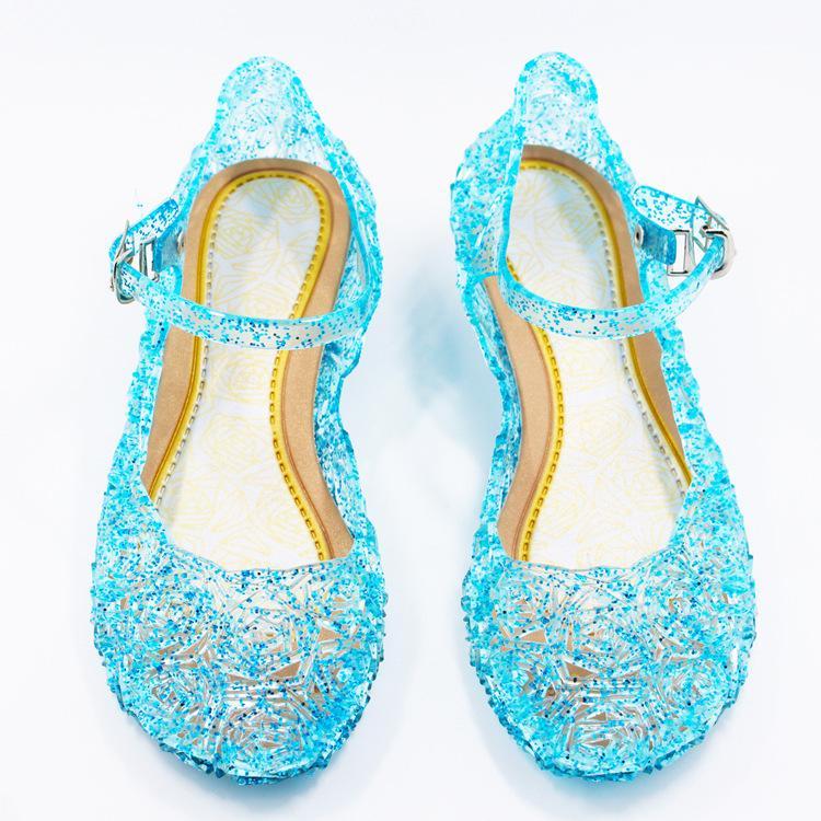 489007f84fd Acheter Élégante Petite Fille Sandales Chaussures Mignonnes Sandales De  Bonbons En Cristal Solide Pour 3 12 Ans Filles Enfants Enfants Été  Princesse ...