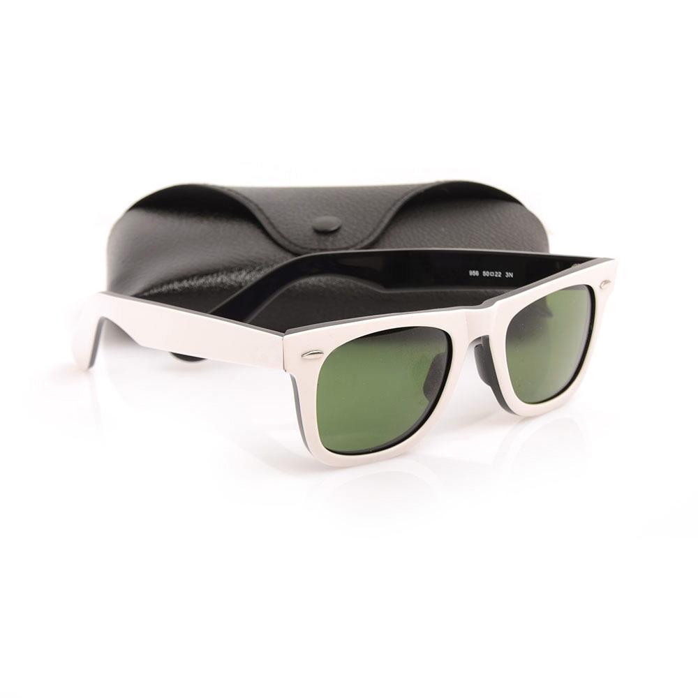 Hot haute qualité lunettes de soleil en planche rouge noir cadre vert lentille lunettes de soleil en métal charnière lunettes de soleil hommes femmes lunettes de soleil unisexe lunettes de soleil