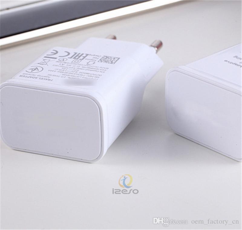 5 V 2A Adaptador de Carregamento Rápido de Alta Velocidade Carregador de Viagem Rápida Universal USB Parede Carregadores Diretos EUA Plugue DA UE Plugs para Galaxy S6 S9