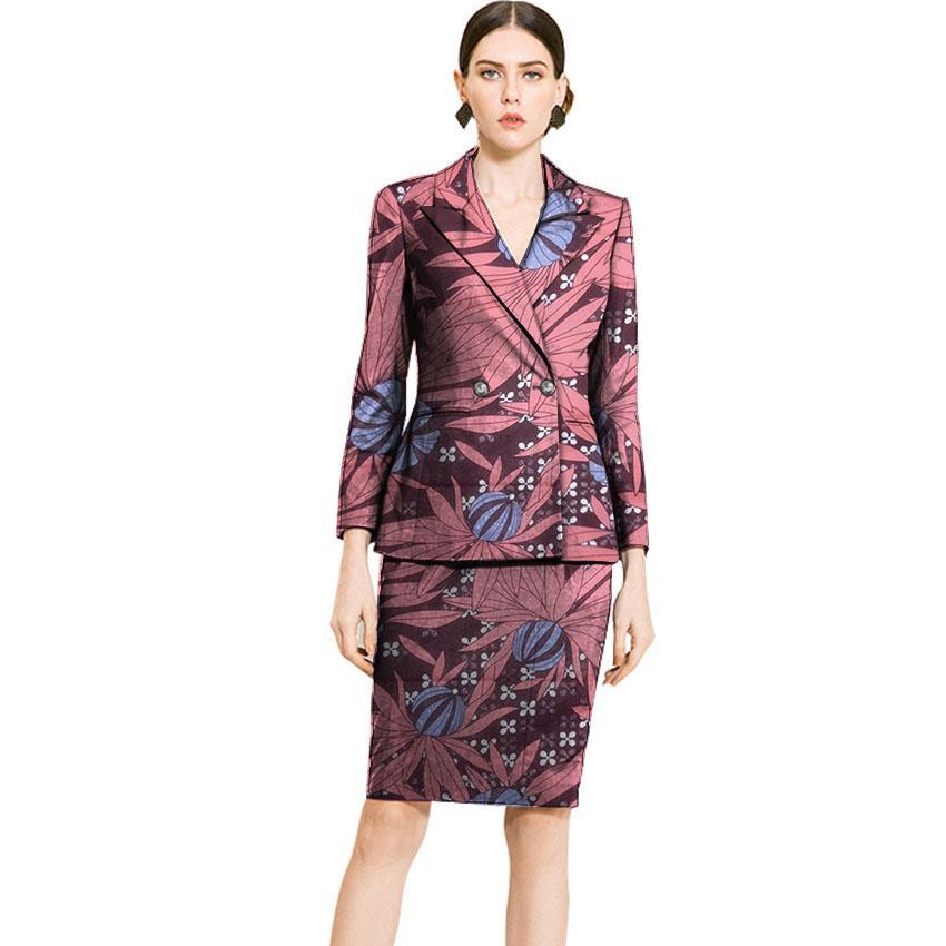 Compre Falda De Mujer Con Estampado Africano + Traje Blazer Ropa Ankara Para  Damas Dashiki Trajes Personalizados Fiesta Africana   Oficina Slim Fit A   77.81 ... b11ee876824