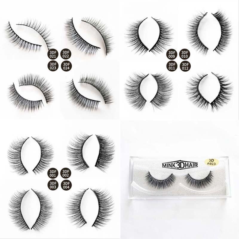 Full Strip Makeup Lashes Artificial Mink Eyelash Extension Makeup