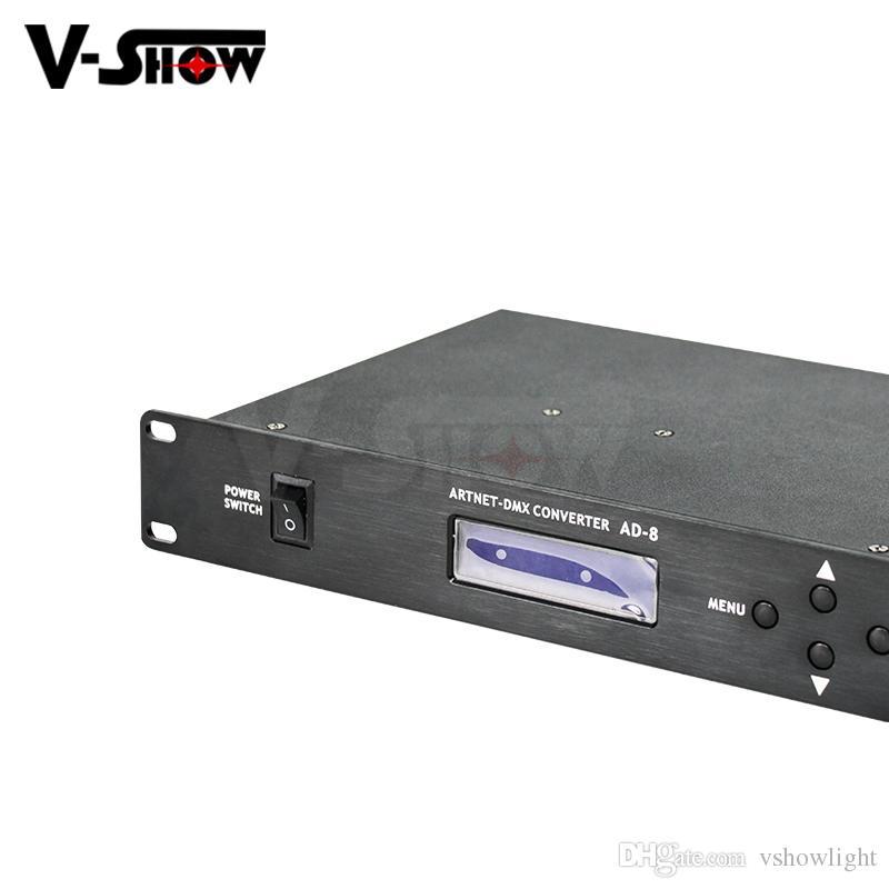 2019 Artnet Dmx Controller 8 Port Converter Input 8x512 Channels