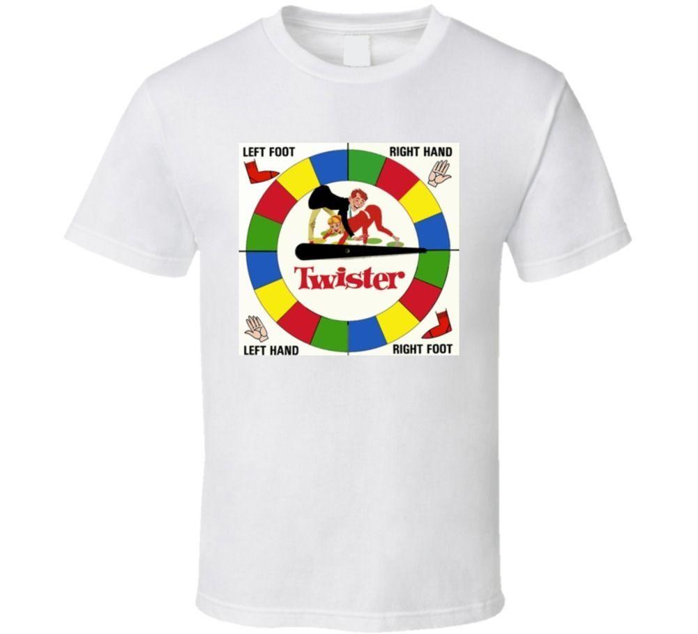 2b65633b5 Twister Classic Board Game T Shirt T Shirts Online White Shirt From  Bstdhgate05