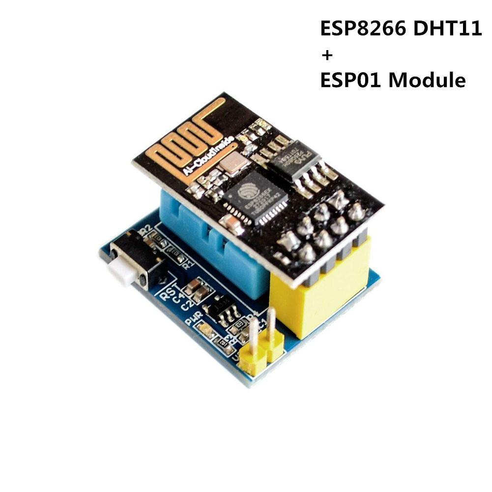 1pcs ESP8266 ESP-01 ESP-01S DHT11 Temperature Humidity Sensor Module  esp8266 Wifi NodeMCU Smart Home IOT (with ESP01) r20