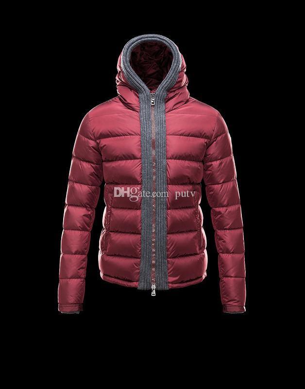 fbe89d90872bf Acheter Homme Costume M1women Anorak Veste D'hiver Hommes Veste D'hiver  Haute Qualité Chaud Plus La Taille Des Femmes Duvet Et Parka Anorak Veste  Fil De ...