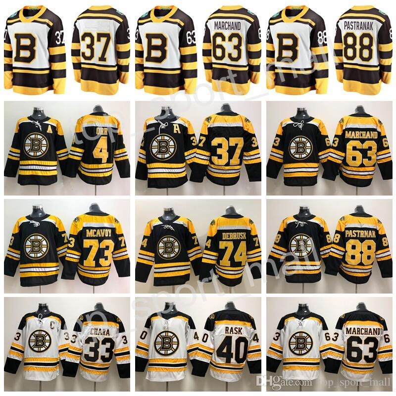 2019 2019 Winter Classic Boston Bruins Charlie Mcavoy Jerseys Jake DeBrusk  Chara Patrice Bergeron Brad Marchand Bobby Orr David Pastrnak Hockey From  ... 50e69effc