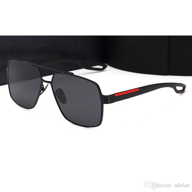 9f5fd47d79f 2018 Brand Designer Driving Men Sunglasses Polarized Outdoor ...