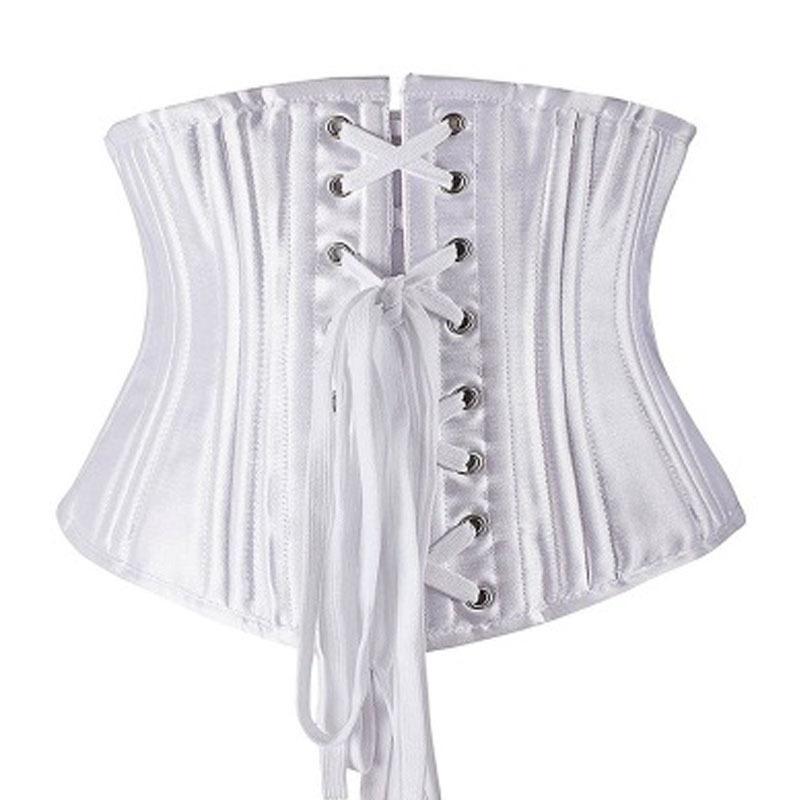3a8c6a1d77 2019 Sexy Steampunk 26 Steel Boned Under Bust Corset Waist Cincher Weight  Loss Shapewear Clubwear Plus Size Queening Costume From Sweet59