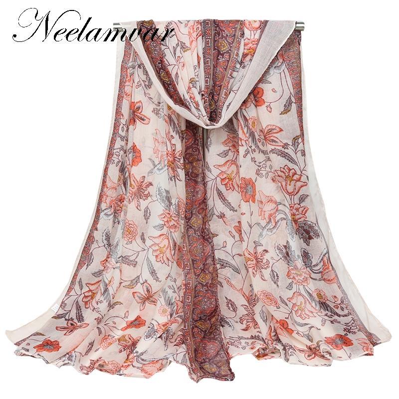 New 180*90 women scarf lady's Scarves long shawl pashmina cotton scarf wrap autumn winter cape hijab muffler