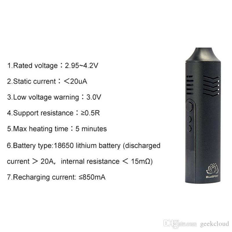 Original Dry Herb Vaporizer Pen Conqueror Starter Kit 2200mAh Battery OLED Screen Temperature Control Herbs E Cigarette DHL Free