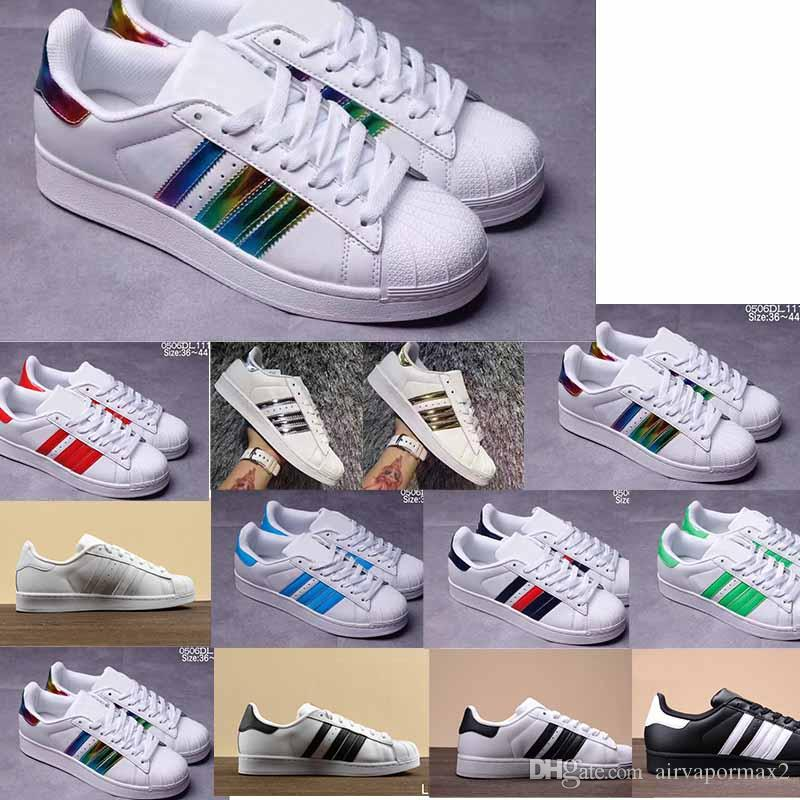 17f7a57a245 Protect the Ankle Hot Sale Originals Superstar White Hologram ...