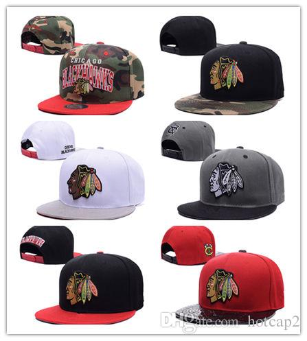 A buon mercato Sport CHICAGO BLACKHAWKS 2 Duncan Keith 19 Jonathan Toews 50 Crawford 72 Panarin Baseball Club Hat Hat Caps regalo di Natale presente