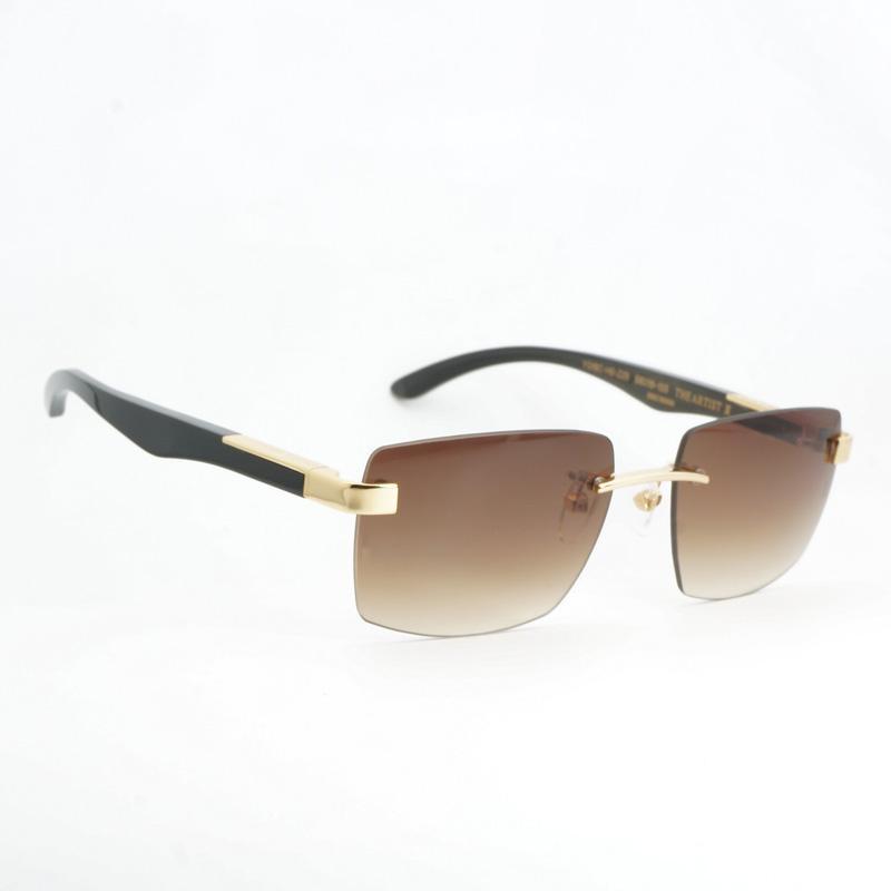 Compre Moda Carter Rivet Óculos De Sol Dos Homens Designer De Marca De Luxo  Chifre De Búfalo Óculos De Sol Shades Quadrados Óculos Oculos Goggles De ... 3897878240