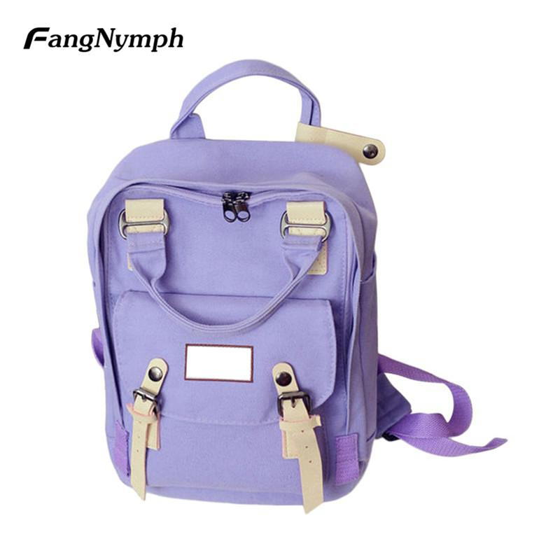 c8fc38c832 FangNymph Travel Teenagers Student School Backpack Girl Large Capacity  Adjustable Shoulder Strap Rucksack Women Sackpack Backpacks Cheap Backpacks  FangNymph ...