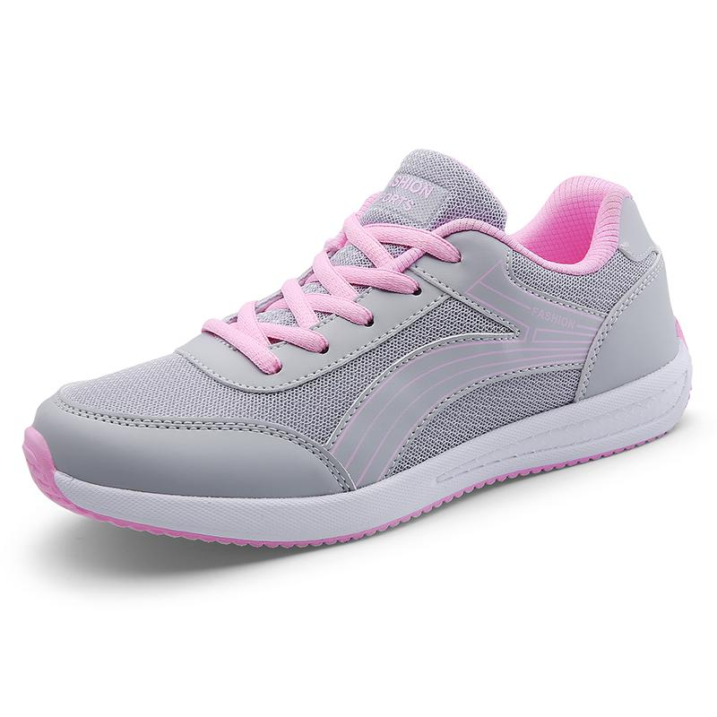 info for 172e1 9f32b 2019 2018 Summer New Style Womens Sport Shoes Mesh Breathable Running Shoes  For Teenage Girls Students Walking Outdoor Sneakers From Hongmihoutao, ...