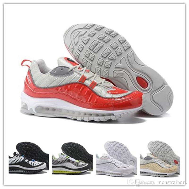 brand new b5cf6 1d49f Cheap Mens OG 98 Gundam Designer Shoes Fashion Zapatillas Hombre 98 SE Running  Shoes Man Sport Trainers Sneakers Sizes Eur40-46 98 98 Shoes Designer Shoes  ...