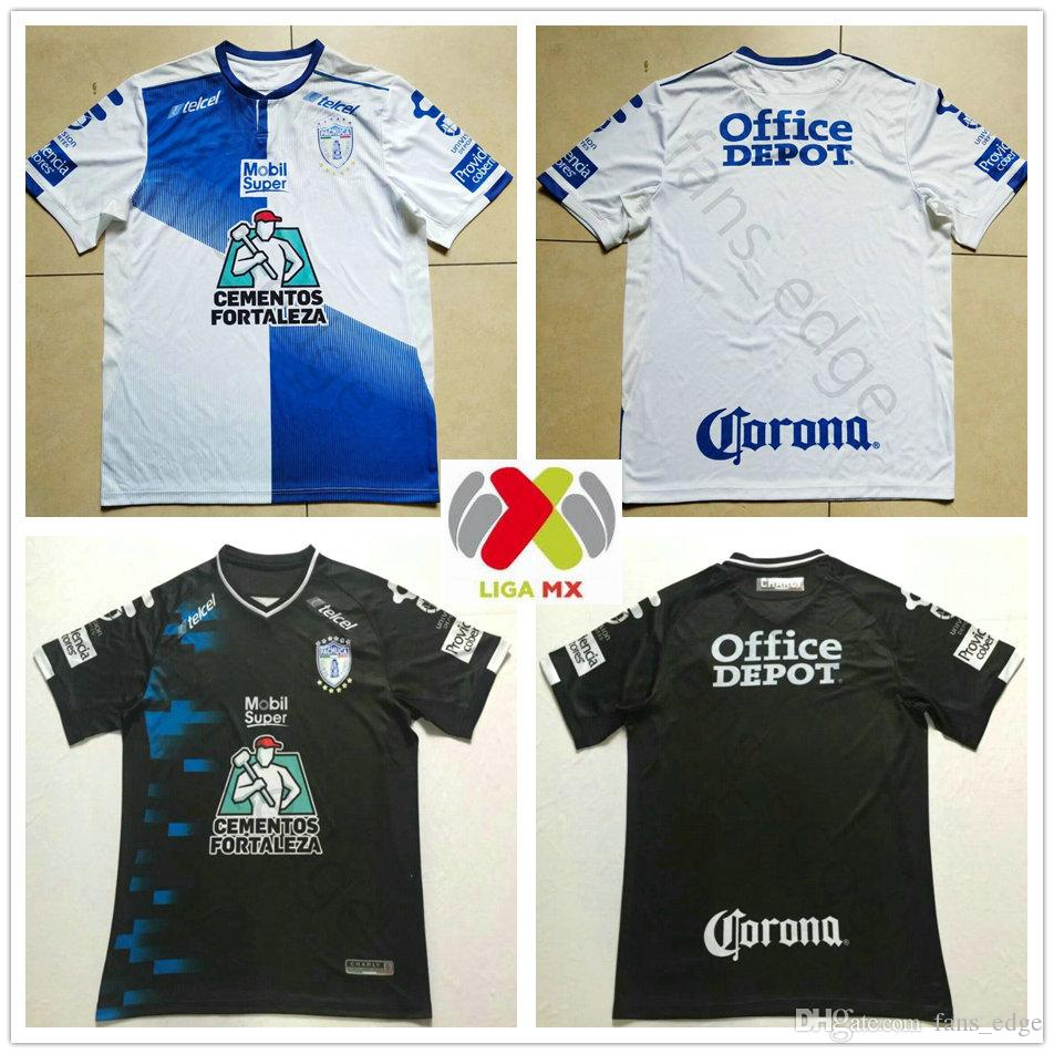 49ab79655acf7 2018 2019 LIGA MX Club CHARLY Jersey De Fútbol Pachuca MANII GARCIA JARA  KSK Local White Away Black 18 19 Adult Football Shirt Por Fans edge