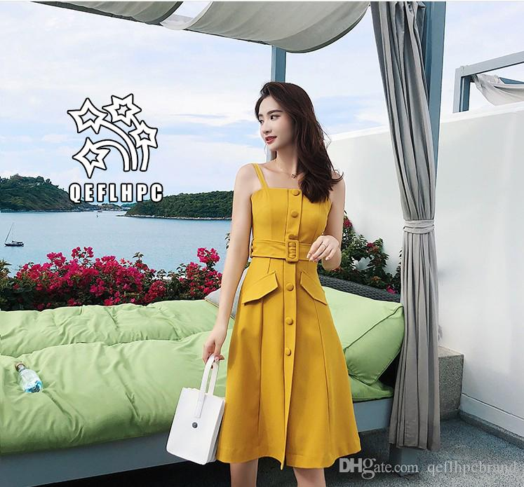 86a600315e6 Women'S Clothes Dress Summer Sexy Beach Chiffon Dress Thin Polyester  Material Casual Dresses Chambray Longuette Striped Black Square Neck A4  Knit Sundresses ...