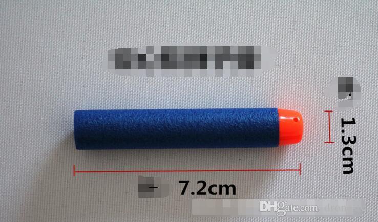 7.2cm NERF N-Strike Elite Series Refill Soft Foam Bullet Darts Gun Toy Bullet can choose For Children Christmas Gift
