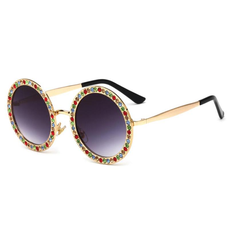 a762761f69 Compre Gafas De Sol De Diamantes De Imitación Para Mujer Diseñador De La Marca  Gafas De Sol Rave Festival Gafas De Sol De Moda Diseñador De La Marca Gafas  ...